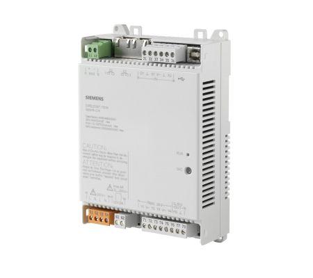 dxr2.e09t-101a комнатный контроллер bacnet/ip, ac 24в (1 di, 2 ui,5  do, 1 ao) siemens BPZ:S55376-C111